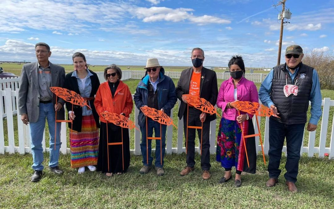Permanent grave markers to be installed at former Regina residential school site